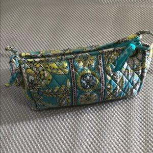 Vera Bradley make up cosmetic bag